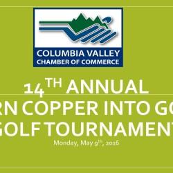 14th (2016) Annual Turn Copper into Gold Golf Tournament
