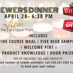 Brewers Dinner at The View Restaurant