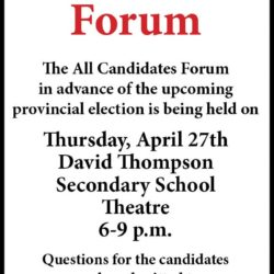 All Candidates Forum