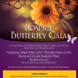 5th Annual Hospice Butterfly Gala