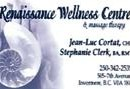 RENAISSANCE WELLNESS CENTRE & MASSAGE THERAPY