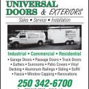 UNIVERSAL DOORS & EXTERIORS