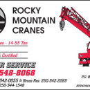 ROCKY MOUNTAIN CRANES LTD.