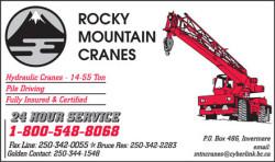 ROCKY MOUNTAIN CRANES LTD.