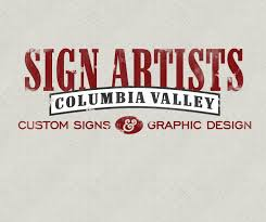 COLUMBIA VALLEY SIGN ARTISTS