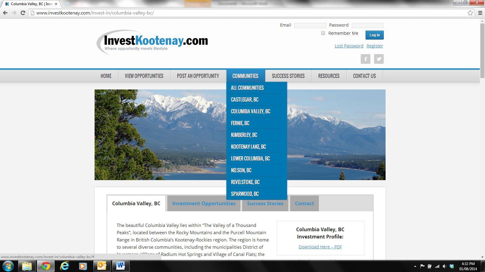 IK Webpage
