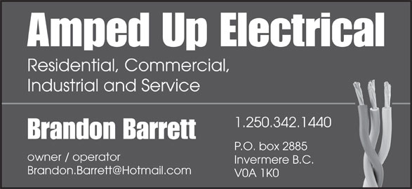 Amped Up Electrical Service Ltd.