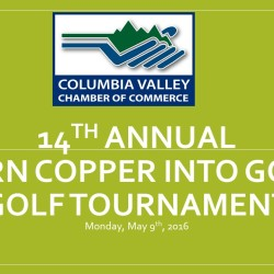 14th (2016) Annual Turn Copper into Gold Golf Tournament