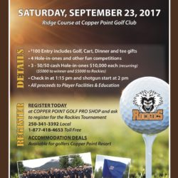 Columbia Valley Rockies Annual Golf Tournament