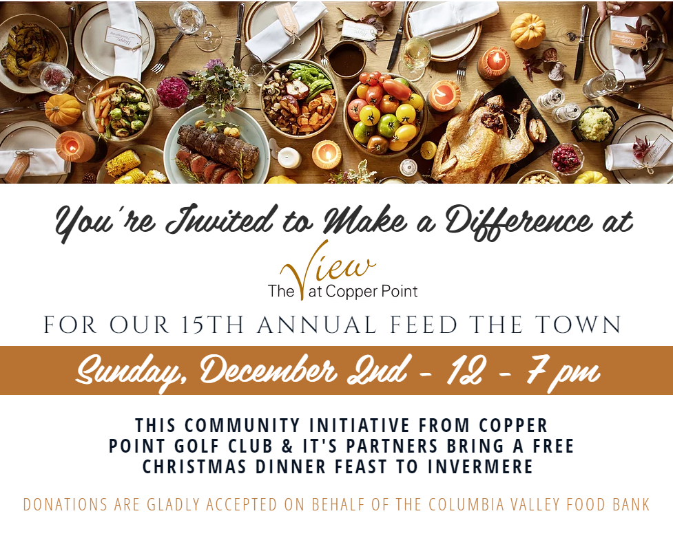 15th Annual Feed the Town @ The View at Copper Point Golf Course